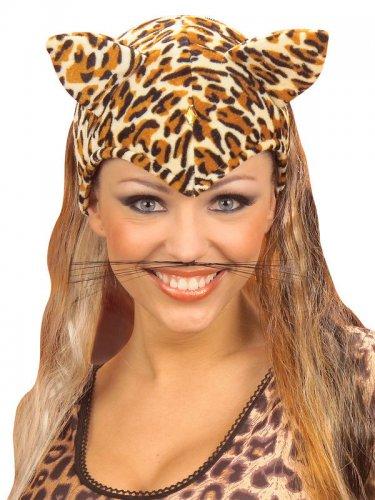Schwarze Katze Schnurrbart Erwachsene-1