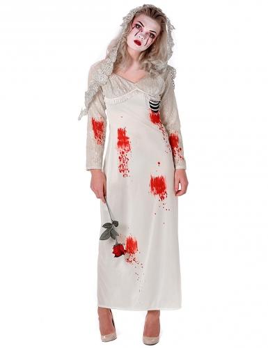 Zombie Bride Kostüm Damen