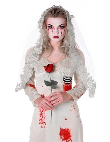 Zombie Bride Kostüm Damen-1