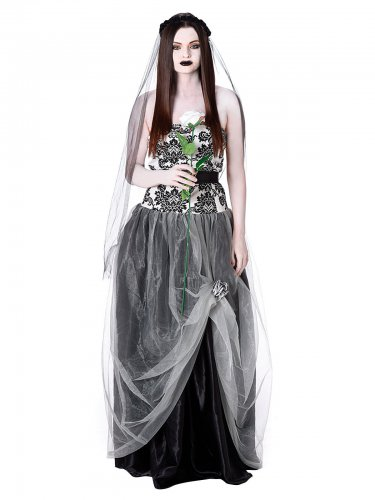 Gothic- Braut Kostüm für Damen
