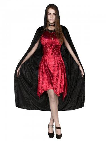 Düstere Hexe Vampirin Damenkostüm