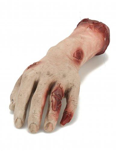 Blutige Hand Dekoration