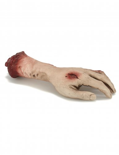 Blutige Hand Dekoration-1
