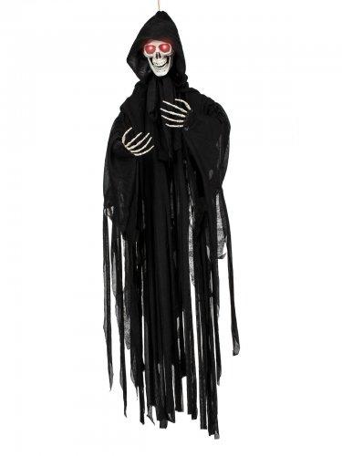 Beleuchtete Skelett Hängedeko Halloween 90 cm