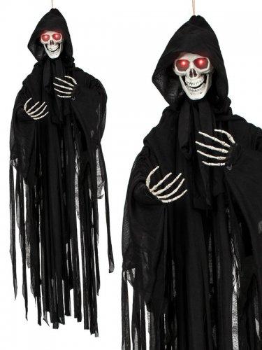 Beleuchtete Skelett Hängedeko Halloween 90 cm-1
