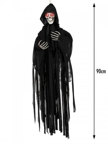 Beleuchtete Skelett Hängedeko Halloween 90 cm-2