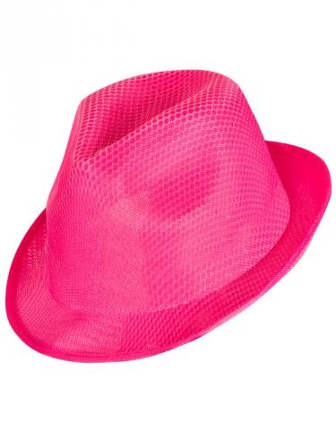 Knalliger Partyhut für Damen in pink-1