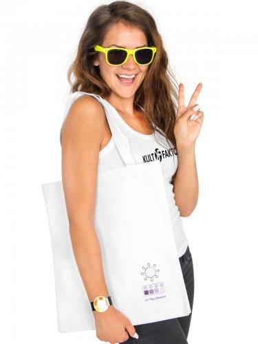 UV Indikator-Tasche weiss