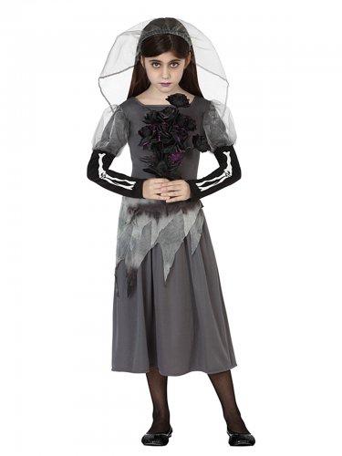 Geisterbraut Kostüm für Mädchen
