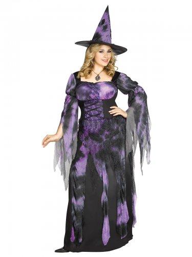 Verkleidung Hexe für Damen große Größen