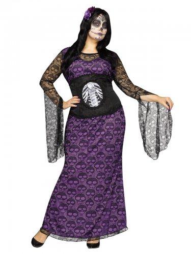 Plus Size Kostüm Nacht der Toten für Damen
