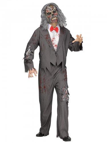 Halloween-Verkleidung Zombie-Kellner für Herren