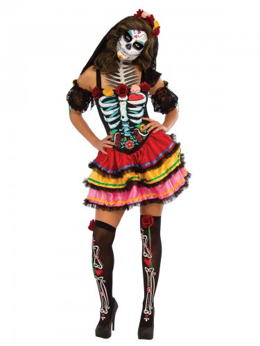 Kostüm Dia de los Muertos