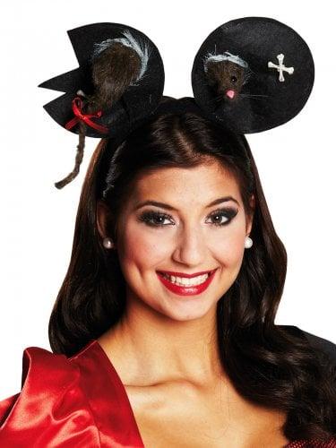 Haarreif Zombie-Maus für Halloween