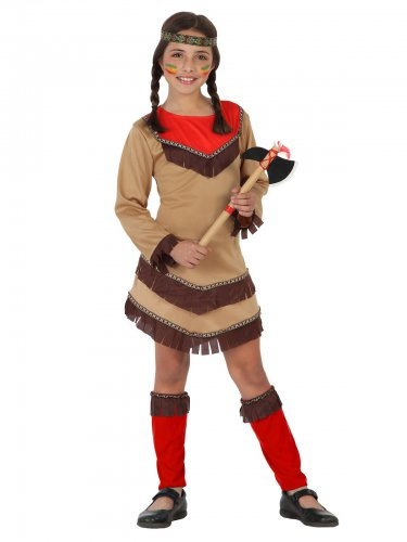 Indianerkostüm für kleine Mädchen