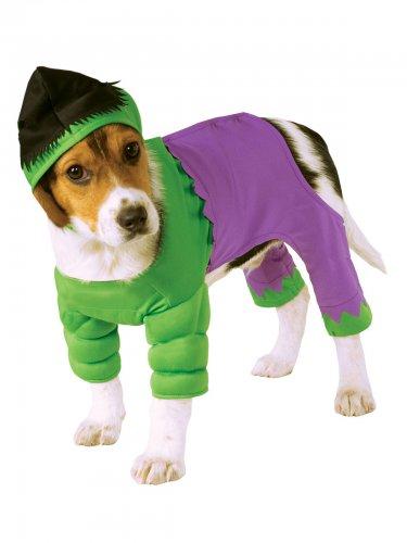 Hundekostüm Marvel Hulk Lizenzware