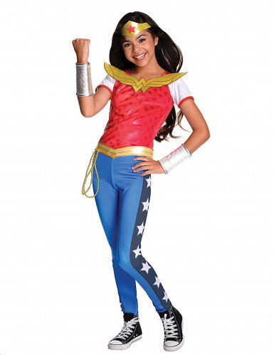 Super Hero Girls Wonder Woman Kinderkostüm Lizenzware