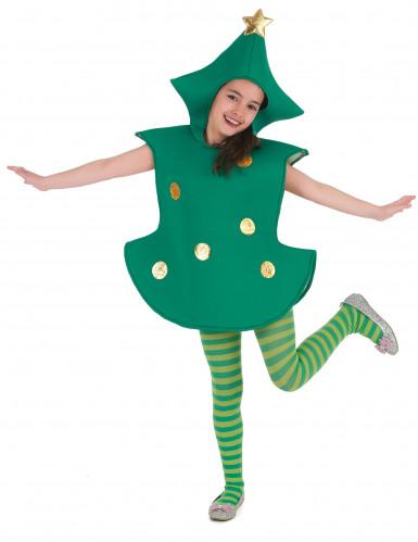 3D Tannenbaum-Kostüm für Kinder