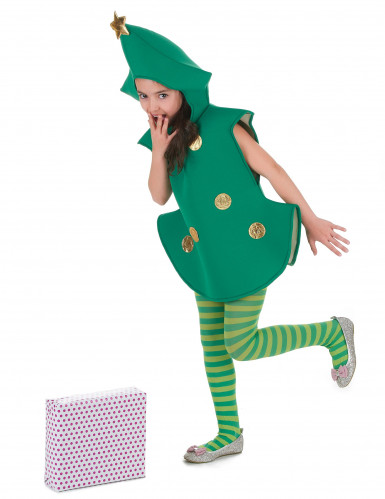 3D Tannenbaum-Kostüm für Kinder-1