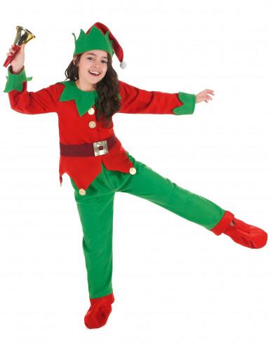 Weihnachts-Elfen Kostüm für Kinder