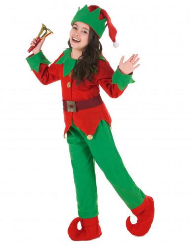 Weihnachts-Elfen Kostüm für Kinder-1