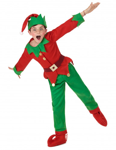 Weihnachts-Elfen Kostüm für Kinder-4
