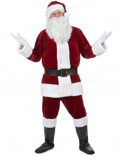 Weihnachtsmann - Kostüm Herren rot - weiss