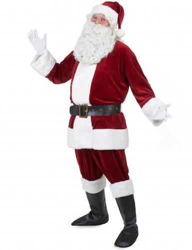 Weihnachtsmann - Kostüm Herren rot - weiss-1