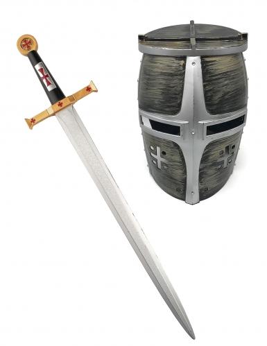 Ritter Schwert und Helm für Kinder