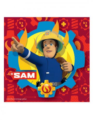 20 Papierservietten Sam der Feuerwehrmann™