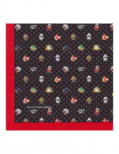 20 Papierservietten Super Mario™ 33 x 33 cm-1