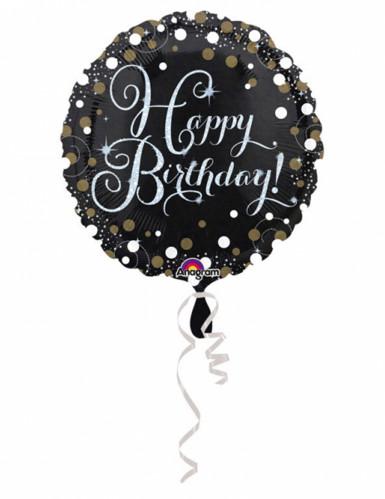 Folienballon schimmernd 43 cm