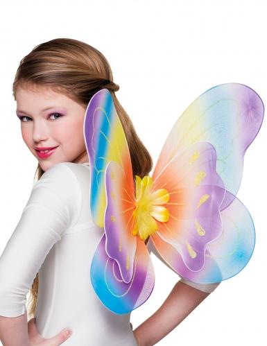 bunte Schmetterlingsflügel für Mädchen