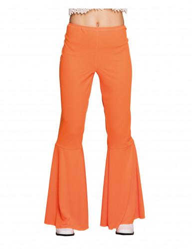 Orange Disco Hose orange für Damen