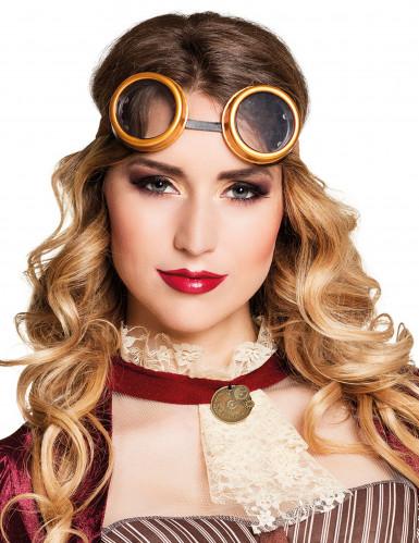 Retro Brille Steampunk für Erwachsene