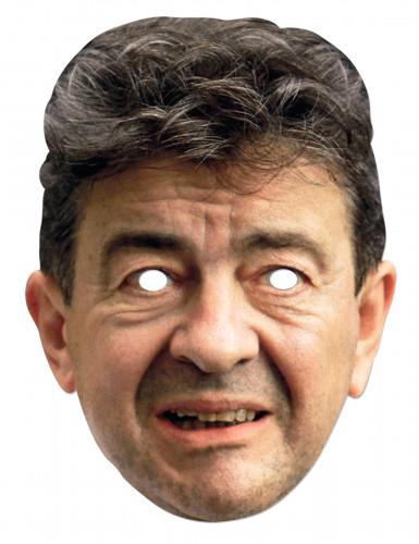 Pappkartonmaske Jean-Luc Mélenchon