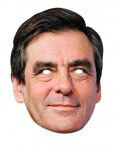 François Fillon Maske aus Karton
