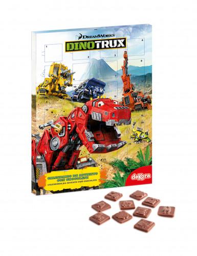 Adventskalender Dinotrux™ mit Schokolade bunt