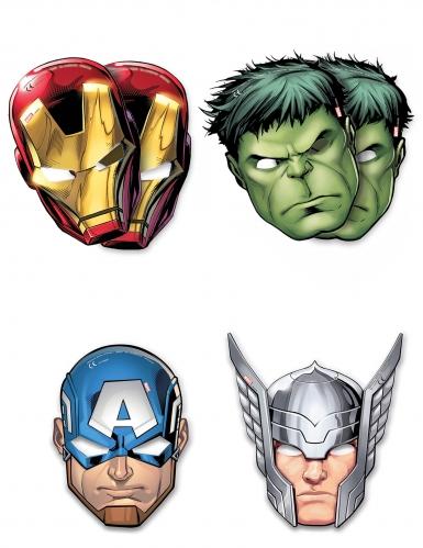 6 Augenmasken Avengers ™