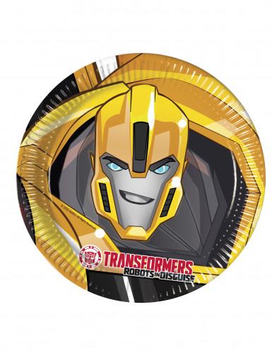 8 Pappteller 23 cm Transformers RID™