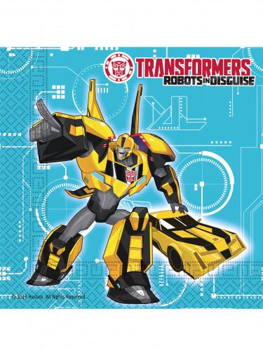 20 Papierservietten 33 x 33 cm Transformers RID™