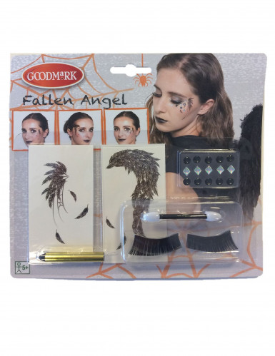 Halloween-Make-Up-Set für Damen bunt