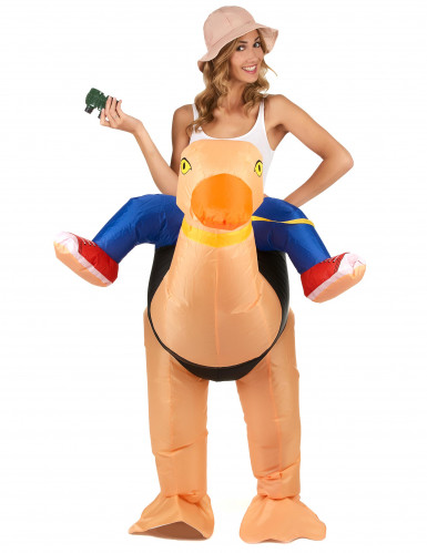Aufblasbares Strauß Kostüm für Erwachsene-1