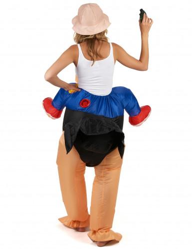 Aufblasbares Strauß Kostüm für Erwachsene-2