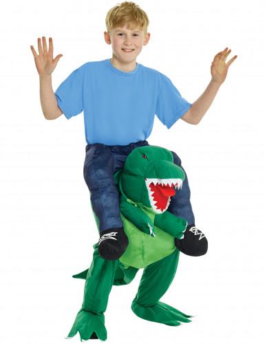 Kostüm Kind auf dem Rücken eines Elefants