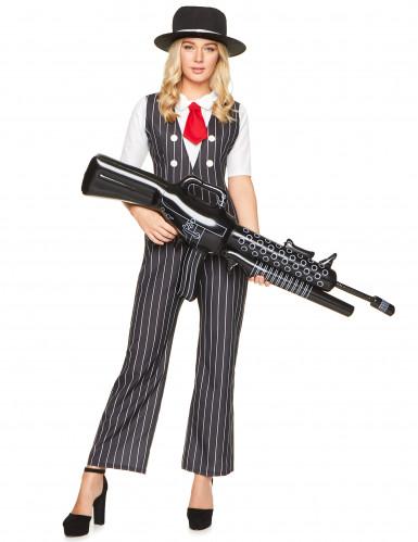 Gangster - Kostüm für Damen-1