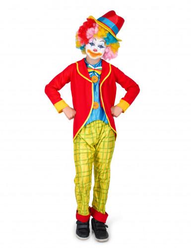 Zirkus-Clown-Kinderkostüm für Jungen bunt-1