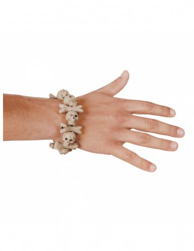 Armband mit Totenköpfen für Erwachsene