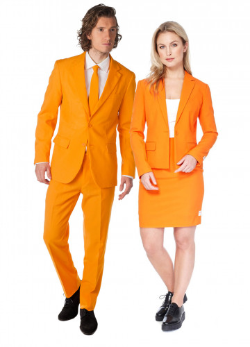 Paarkostüm Opposuits™ The Orange und Foxy Orange