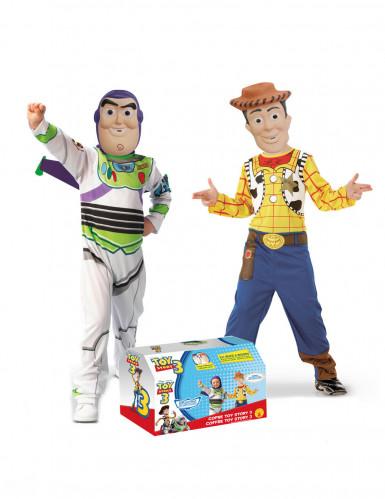 Kostüm Koffer Buzz™ und Woody™ für Kinder